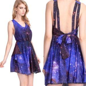 Romwe Galaxy Print Dress